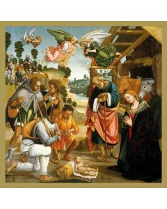 The Adoration of the Shepherds  #CMHX404 - Pack of 5 Cards