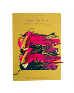 East End Press, Paper Garland,  Tropical Birds