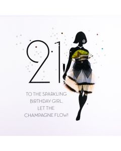 21 - To The Sparkling Birthday Girl FOF14
