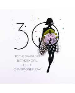 30 - To The Sparkling Birthday Girl FOF15