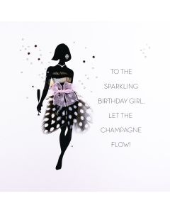 To The Sparkling Birthday Girl FOF7