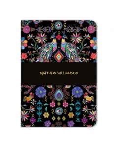 Museums and Galleries Matthew Williamson A5 Pampas Peacock Notebook