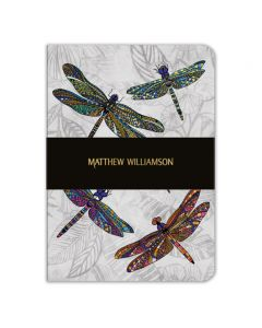 Museums and Galleries Matthew Williamson A5 Dragonflies Notebook