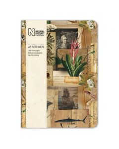 Museums and Galleries Natural History Museum A5 Cook Scrapbook Notebook