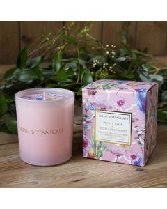 Irish Botanicals Candle Peony and Wild Apple Mint