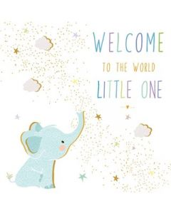Portfolio, Sara Miller London Jaz and New Baby Card It's a Boy Welcome to the World Little One