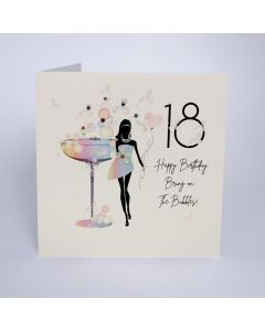 Five Dollar Shake Birthday Card 18 Bring On The Bubbles