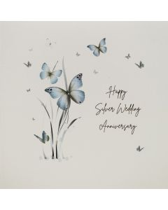 Five Dollar Shake Anniversary Card Silver Wedding Anniversary