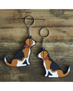 Sweet William Keyring Beagle