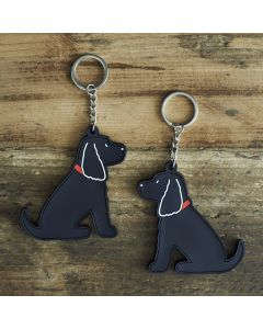 Sweet William Keyring Cocker Spaniel Black