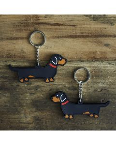 Sweet William Keyring Dachshund
