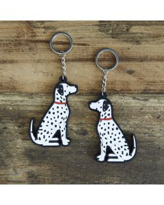 Sweet William Keyring Dalmatian