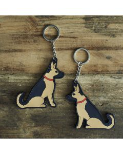 Sweet William Keyring German Shepherd