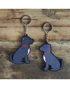 Sweet William Keyring Staffie