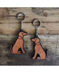 Sweet William Keyring Vizsla