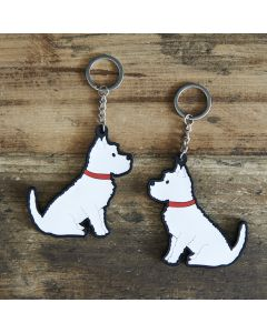 Sweet William Keyring Westie