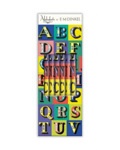 Museums and Galleries Pencil Box of 6 HB Pencils E.M Dinkel Alphabets