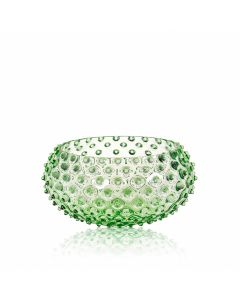 KLIMCHI Crystal Hobnail Bowl Light Green