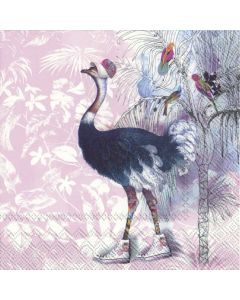 Paper Napkins for Decoupage, 4 Single Lunch Size Paper Napkins Cool and the Gang