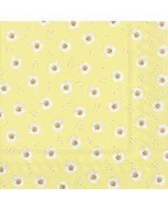 Betty - Yellow - 4 Napkins for Decoupage