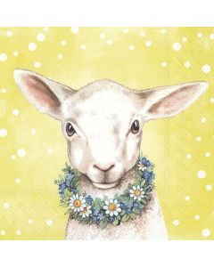 Easter Friends - Lamb - 4 Napkins for Decoupage