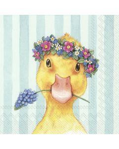 Easter Friends - Chick - 4 Napkins for Decoupage