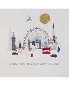 Five Dollar Shake Christmas Card Merry Christmas and a Happy New Year London