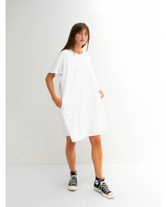 Chalk UK Linda Dress  White