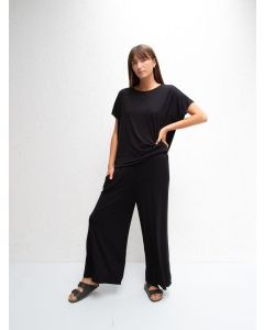 Chalk UK Luna Pants Black Heavy Jersey