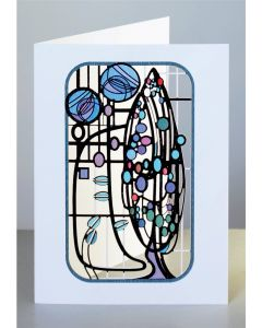 Forever Cards Laser Cut Card Charles Rennie Mackintosh Inspired Tree