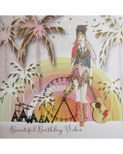 Five Dollar Shake Birthday Card Beautiful Birthday Vibes, Festival
