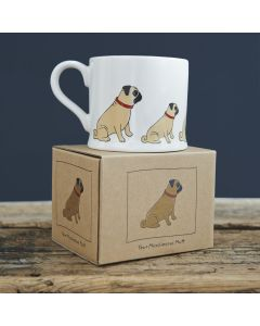 Pug - Sweet William Dog Mug
