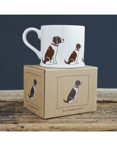 Springer Spaniel Liver & White - Sweet William Dog Mug