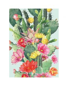 Museums and Galleries Matthew Williamson Greeting Card Design Collection Cactus Flower