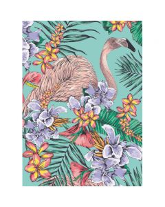 Museums and Galleries Matthew Williamson Greeting Card Design Collection Flamingo