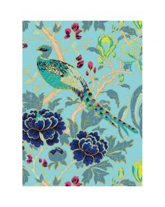 Museums and Galleries Matthew Williamson Greeting Card Design Collection Magnolia Peacock