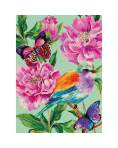 Museums and Galleries Matthew Williamson Greeting Card Design Collection Rose Garden