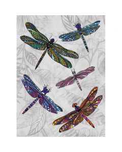 Museums and Galleries Matthew Williamson Greeting Card Design Collection Dragonfly Dance