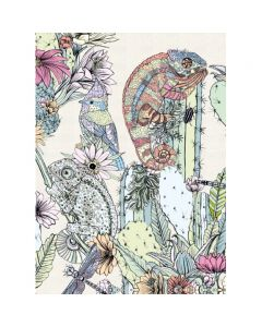 Museums and Galleries Matthew Williamson Greeting Card Design Collection Cactus Chameleons
