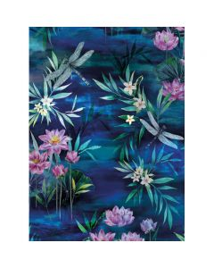 Museums and Galleries Matthew Williamson Greeting Card Design Collection Lillies and Dragonflies