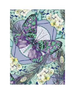 Museums and Galleries Matthew Williamson Greeting Card Design Collection Heritage Butterfly