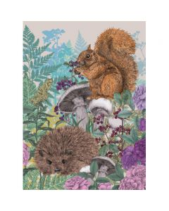 Museums and Galleries Matthew Williamson Greeting Card Design Collection Woodland