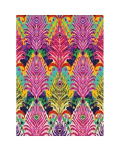 Museums and Galleries Matthew Williamson Greeting Card Design Collection Peacock Ikat