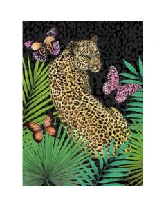 Museums and Galleries Matthew Williamson Greeting Card Design Collection Forest Leopard