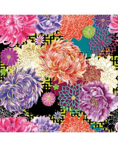 Museums and Galleries Matthew Williamson Greeting Card DNA Print Asian Floral