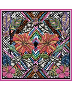 Museums and Galleries Matthew Williamson Greeting Card DNA Print Floral Embroidery