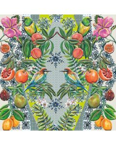 Museums and Galleries Matthew Williamson Greeting Card DNA Print Med Medley
