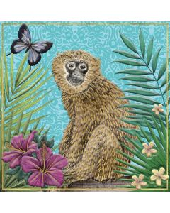 Museums and Galleries Matthew Williamson Greeting Card DNA Print Monkey