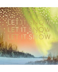 Matthew Williamson Christmas Card, Let it Snow Pack of 5
