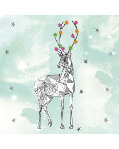 Matthew Williamson Christmas Cards, Reindeer Pack of 5